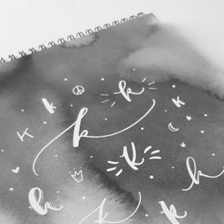 Krasoblok na psaní perem