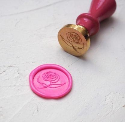 Pečetidla motivy III. Růže