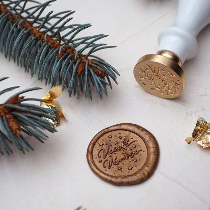 Veselé Vánoce zlatá