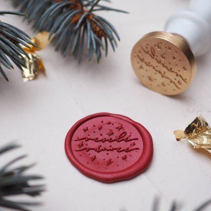 veselé vánoce červená