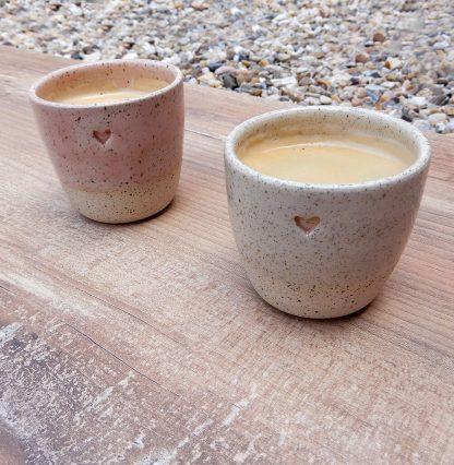 Mini kalíšky káva